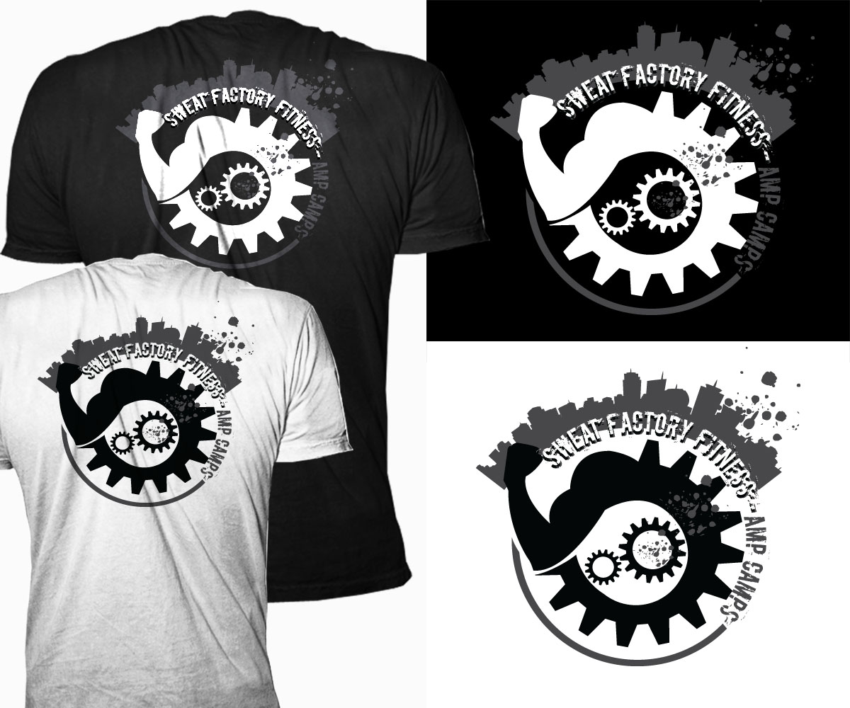 Logo design for vicky trout by trhz design 5145656 for Mechanical logos for t shirts
