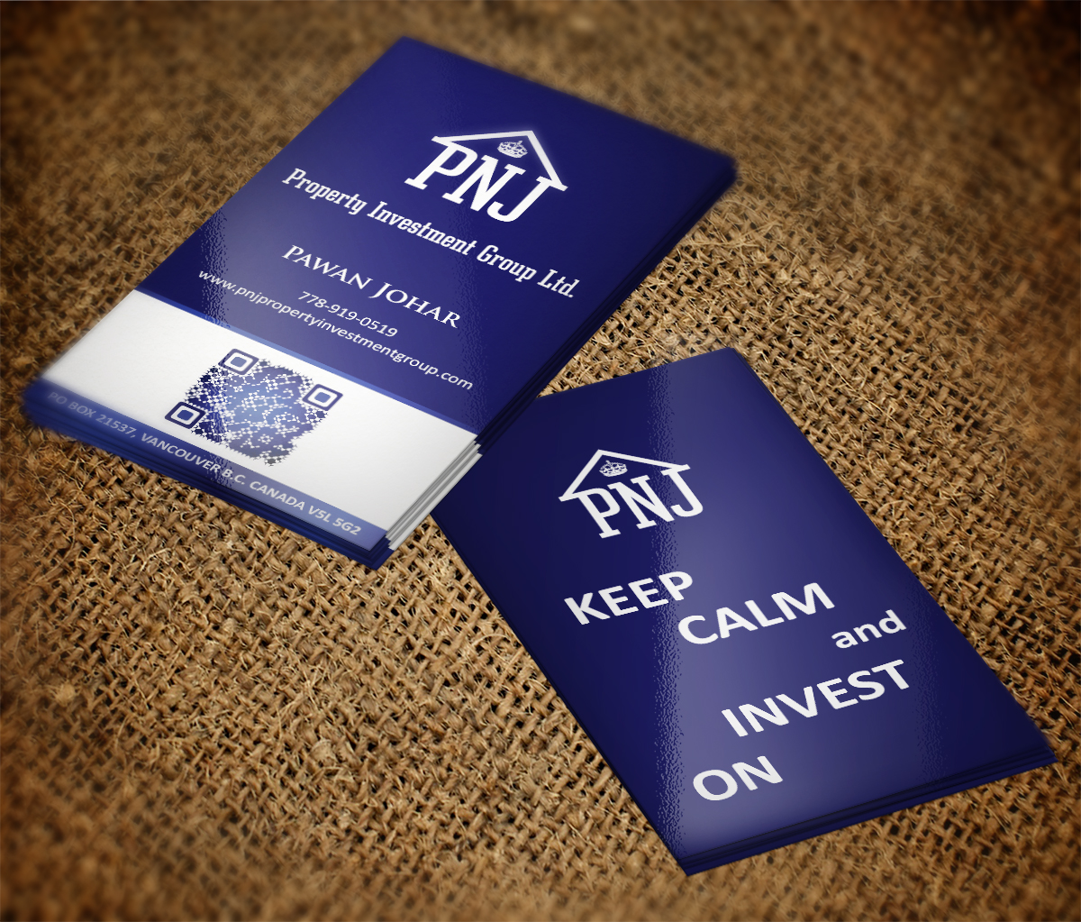 Business card design for pnj property investment group ltd by mt business card design by mt for business cards and logo for property investment company design magicingreecefo Image collections