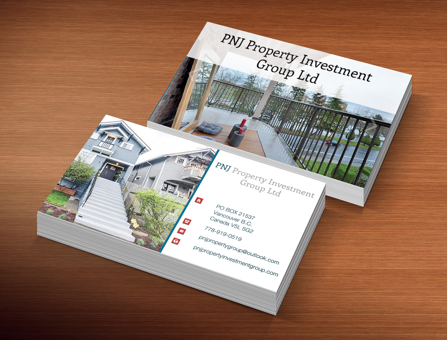 Investment business card design for pnj property investment group business card design by creation lanka for pnj property investment group ltd design colourmoves