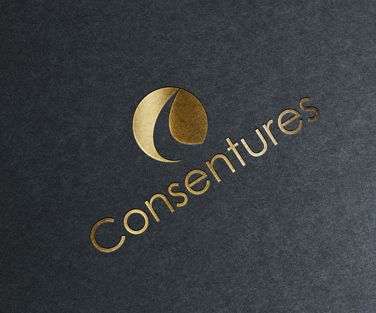 Modern professional logo design by logo vision design for Design and development consultants