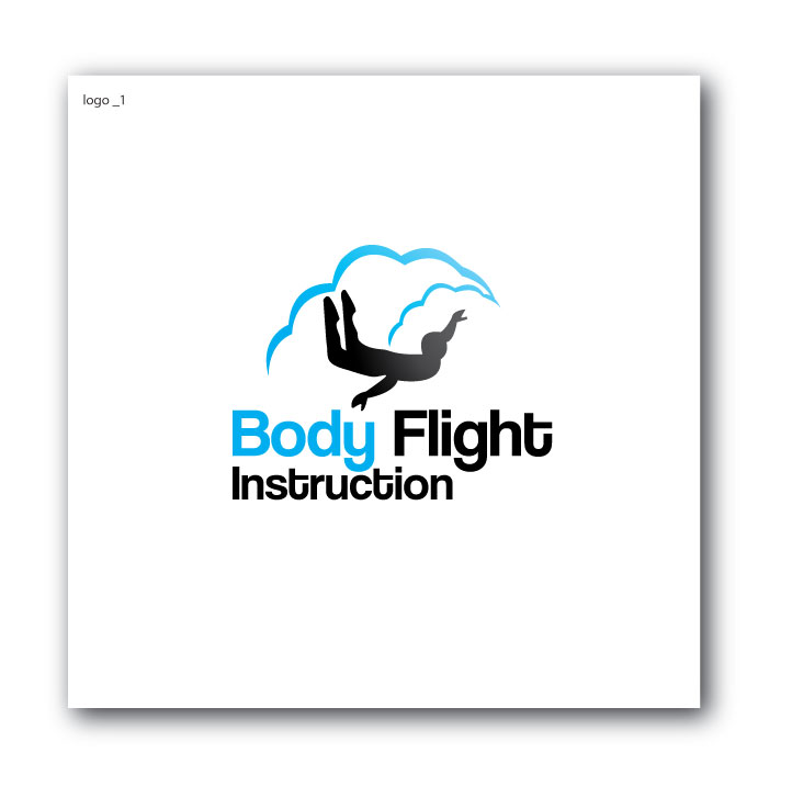 Professional Conservative Skydiving Logo Design For Body Flight