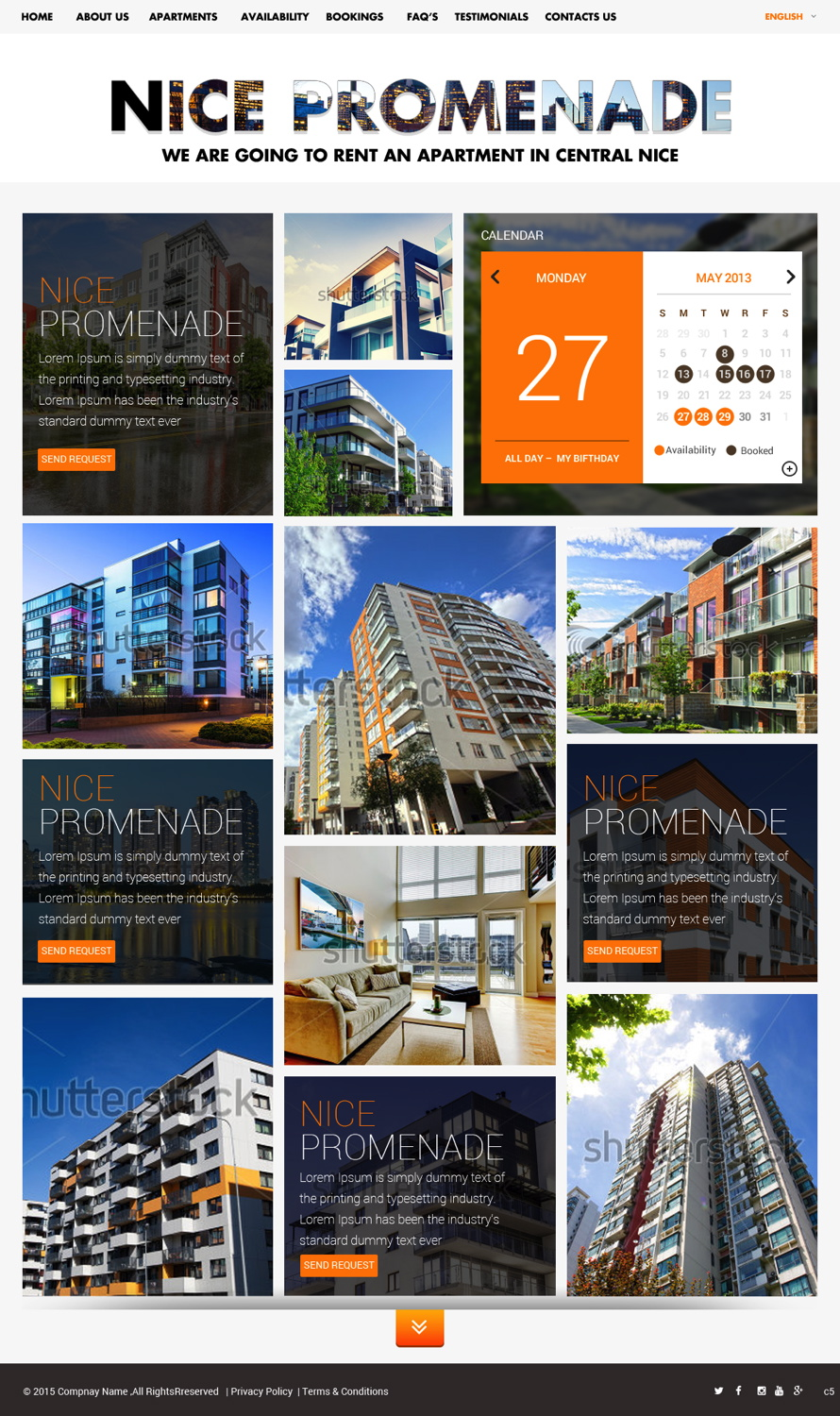 Apartment Website Design Web Design For Dag Honningsvågpb  Design #5390036