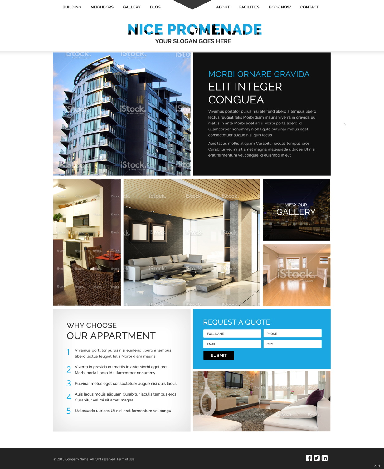 Apt Websites: Apartment Web Design For A Company By Pb