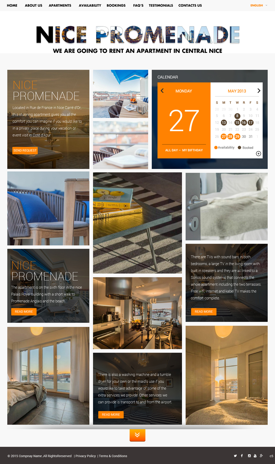 Apartment web design for a company by pb design 5780854 for Apartment web design