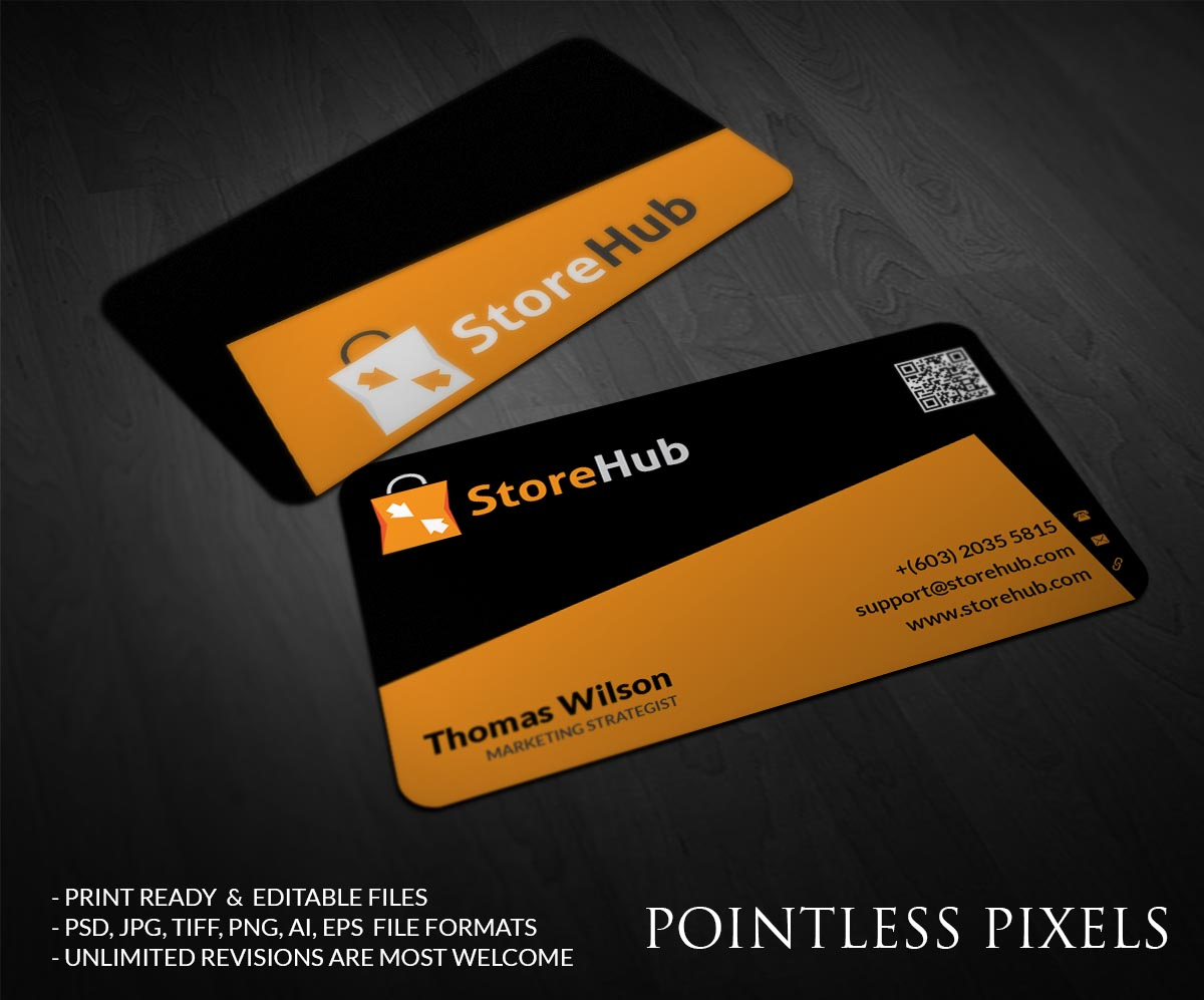 Modern elegant building business card design for storehub sdn bhd business card design by pointless pixels india for storehub sdn bhd design 5190440 colourmoves