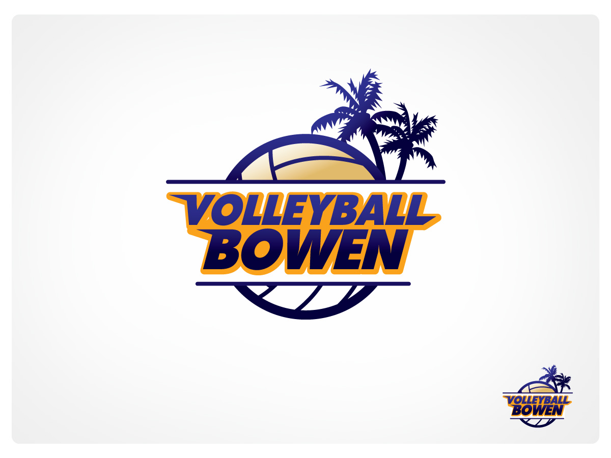 38 Professional Town Logo Designs For Volleyball Bowen A