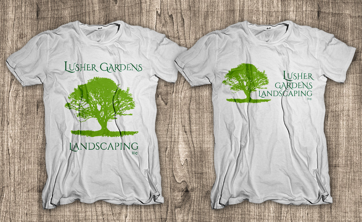 T shirt design for john smallwood by dsgrapiko design for Garden t shirt designs