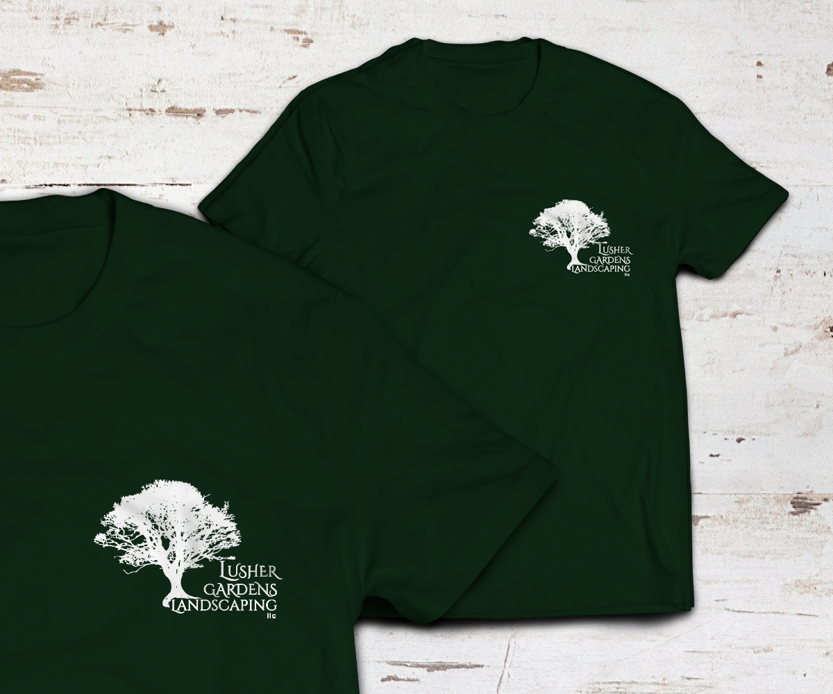 Landscaping T Shirt Design For A