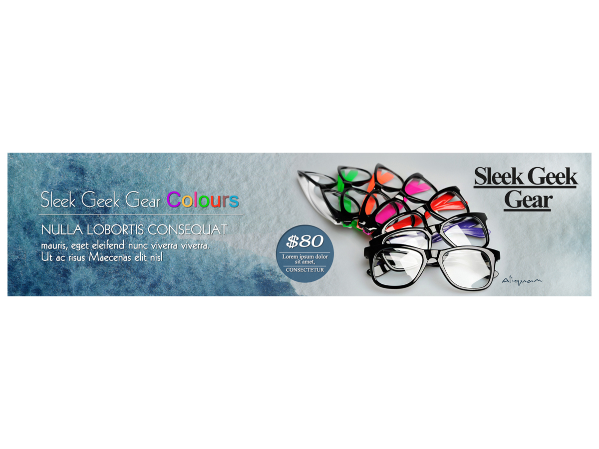 playful personable banner ad design for shawn sabeti by