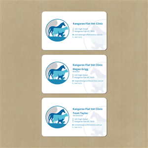 85 Bold Modern Veterinary Business Card Designs for a Veterinary ...