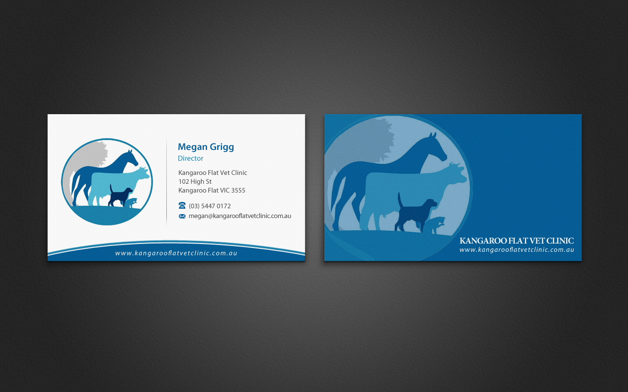 Unique Veterinarian Business Cards Crest - Business Card Ideas ...