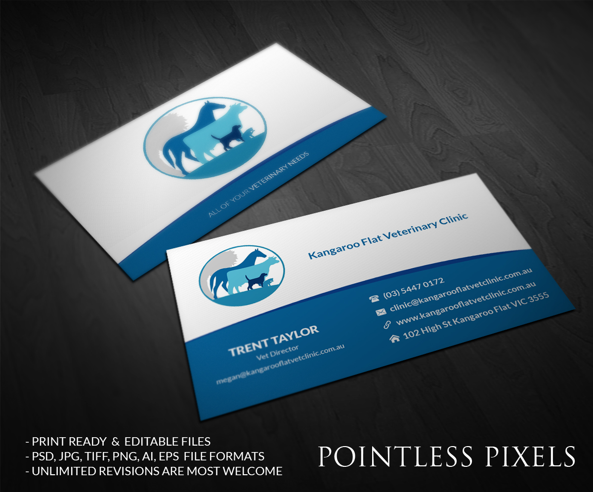 Bold, Modern Business Card Design for Trent by Pointless Pixels ...