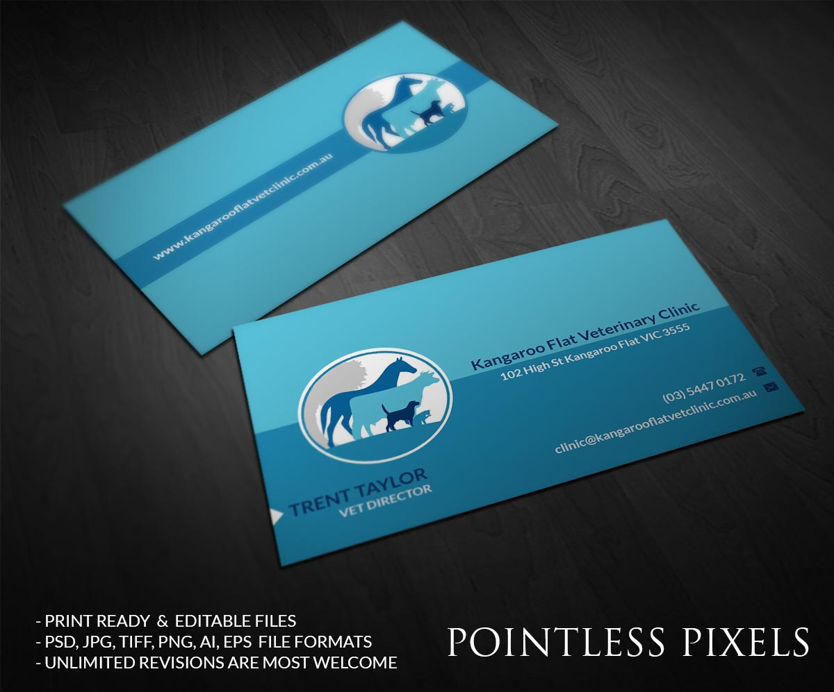 Veterinary Business Cards Image collections - Business Card Template