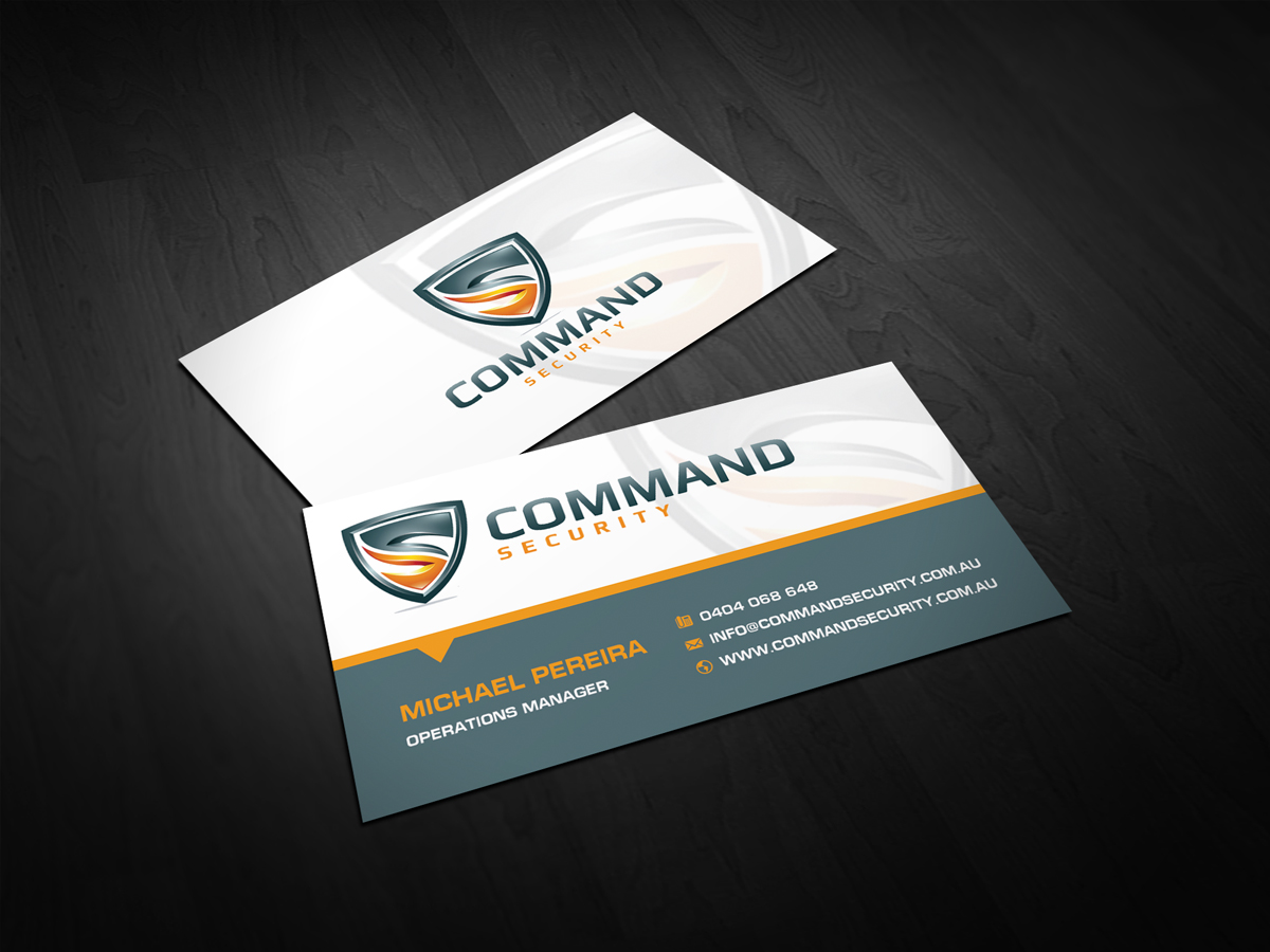 40 Bold Business Card Designs | Security Business Card Design ...