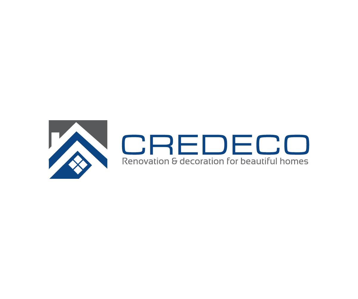Modern professional building logo design for credeco by for Professional building designer