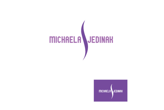 Elegant Upmarket Fashion Logo Design For Michaela Jedinak By Ravi Design 1466403