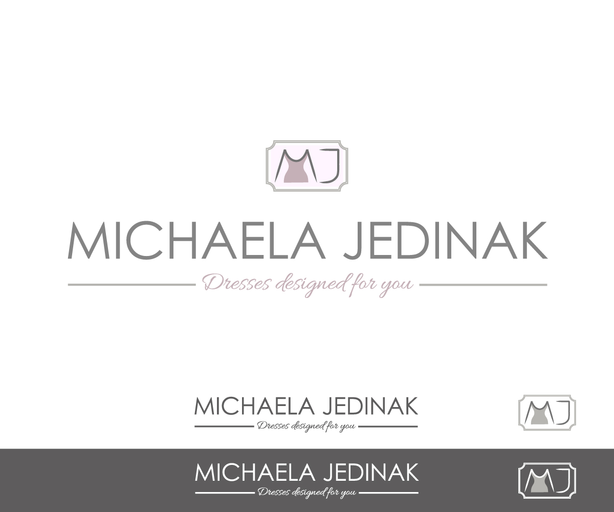 Elegant Upmarket Fashion Logo Design For Michaela Jedinak By Dzains Design 1465199