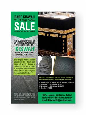 Kiswa Design | 49 Flyer Designs for a business in United Kingdom