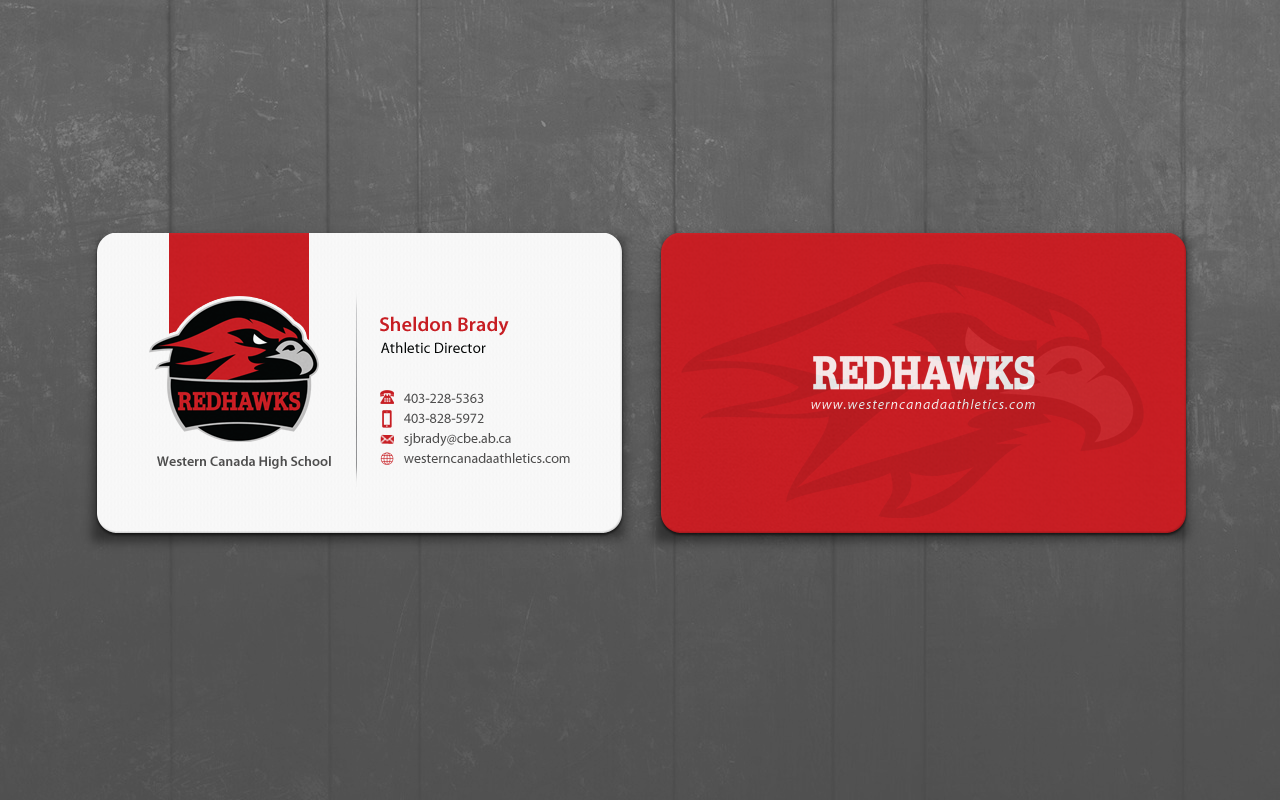 School Business Card Design for a Company by pixelfountain | Design ...