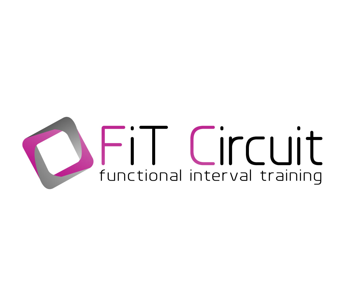 modern  upmarket  training logo design for fit circuit or