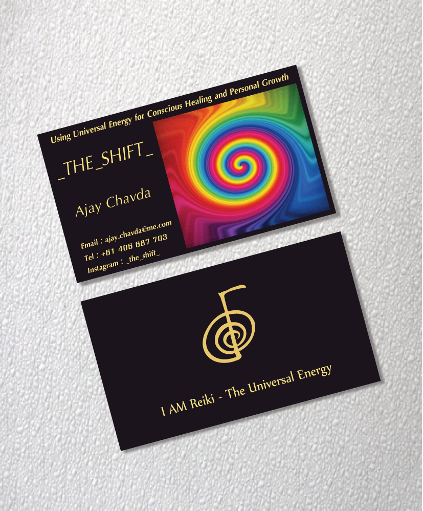 Business Card Design for Ajay Chavda by Jacqueline | Design #5198684
