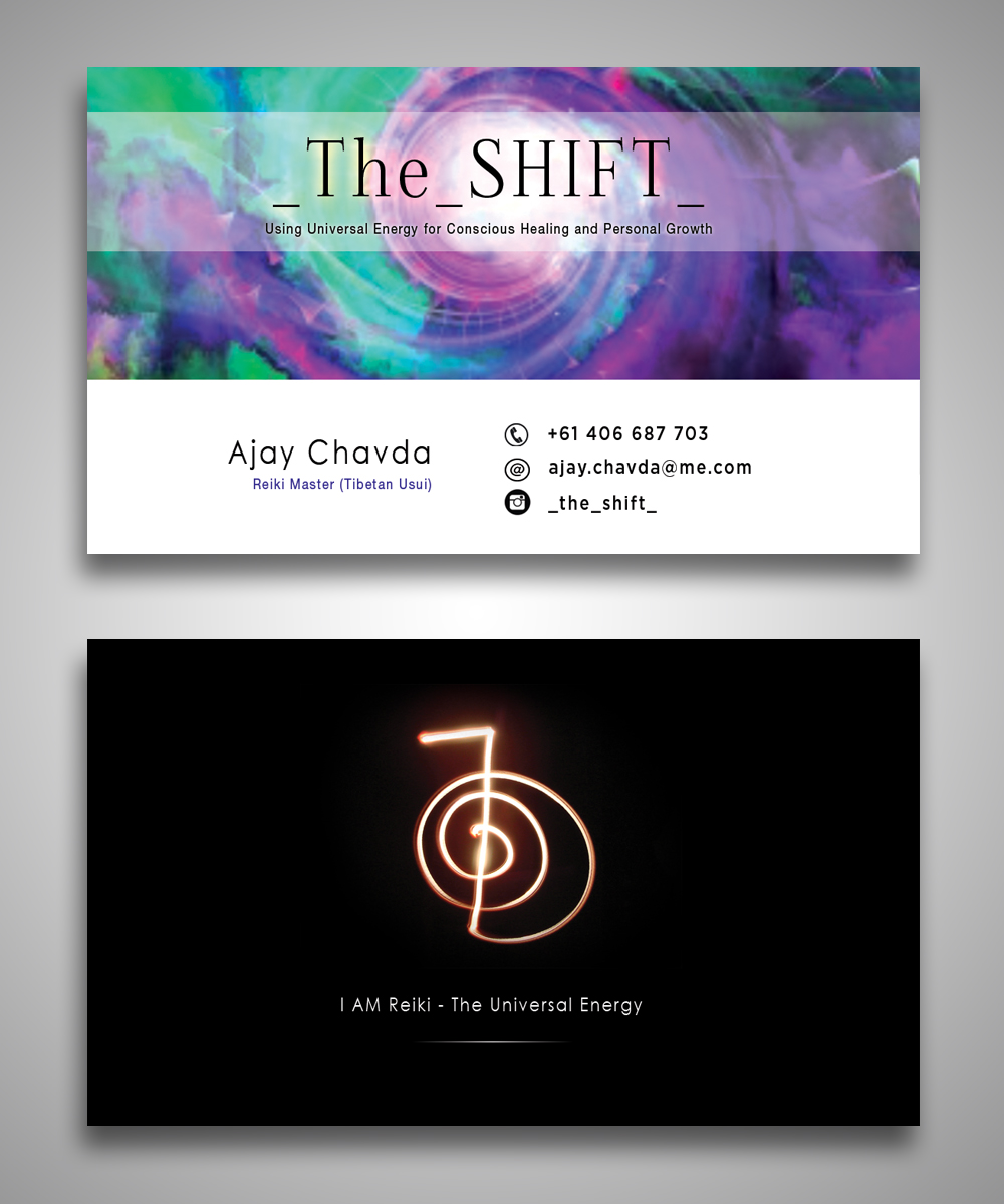 Business Card Design for Ajay Chavda by Satyajit Sil Creations ...