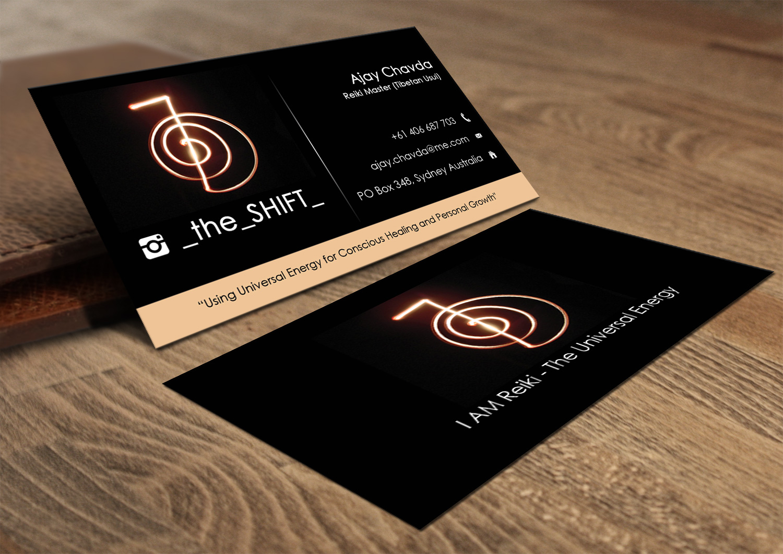 Business Card Design for Ajay Chavda by Lanka Ama | Design #5192604