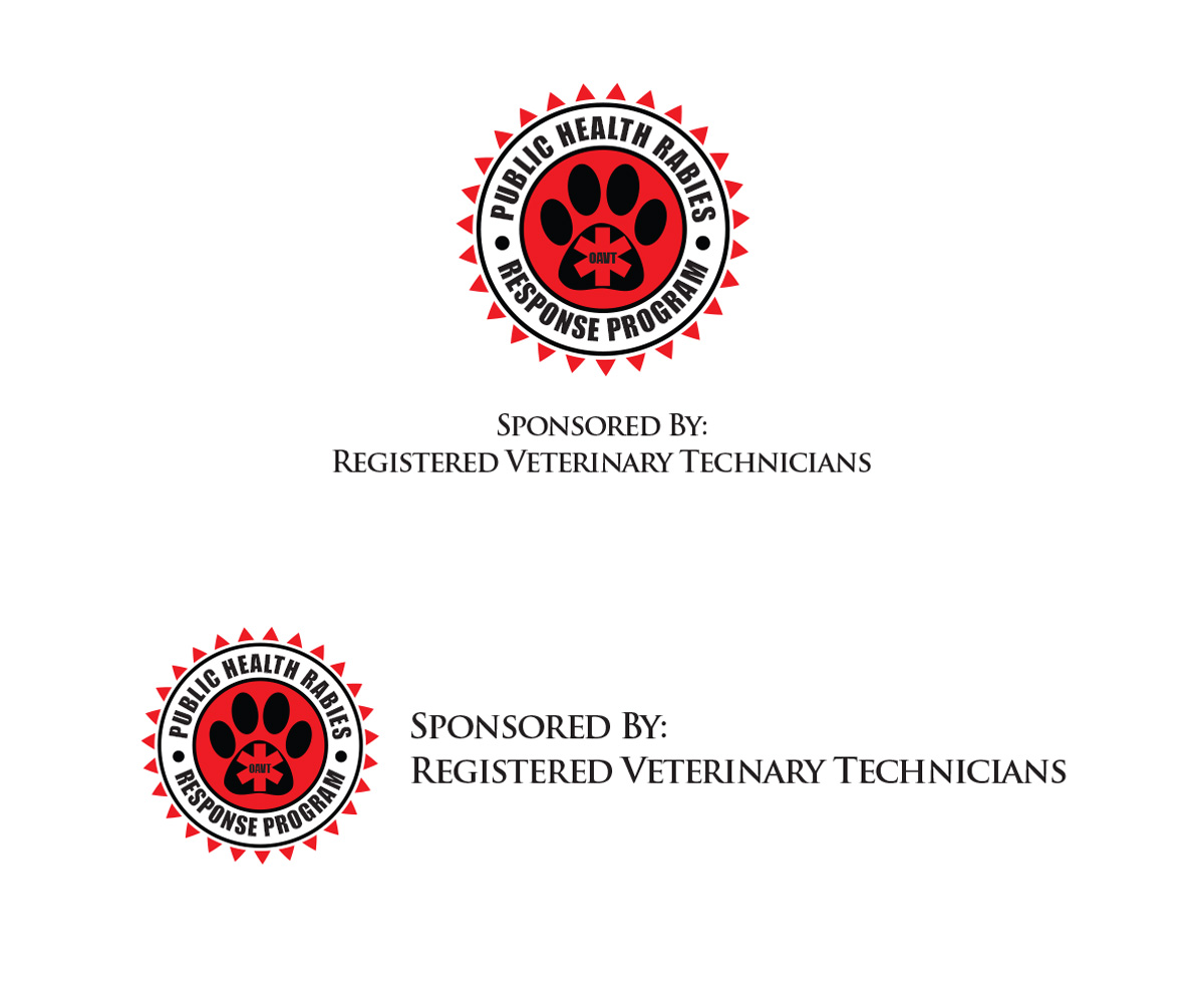 Veterinary logo design for oavt public health rabies for Logo drawing program