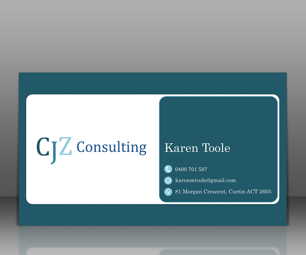Professional, Feminine, Government Business Card Design for a ...
