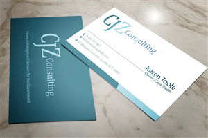 Management Consulting Business Card Design Galleries For Inspiration