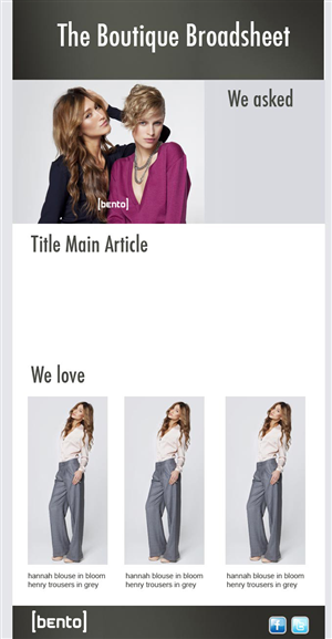 Fashion Label Website Design 260451