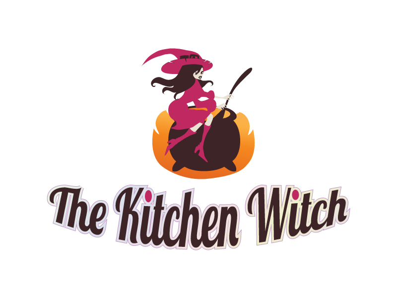 Bold, Serious, Catering Logo Design for The Kitchen Witch by Milena ...