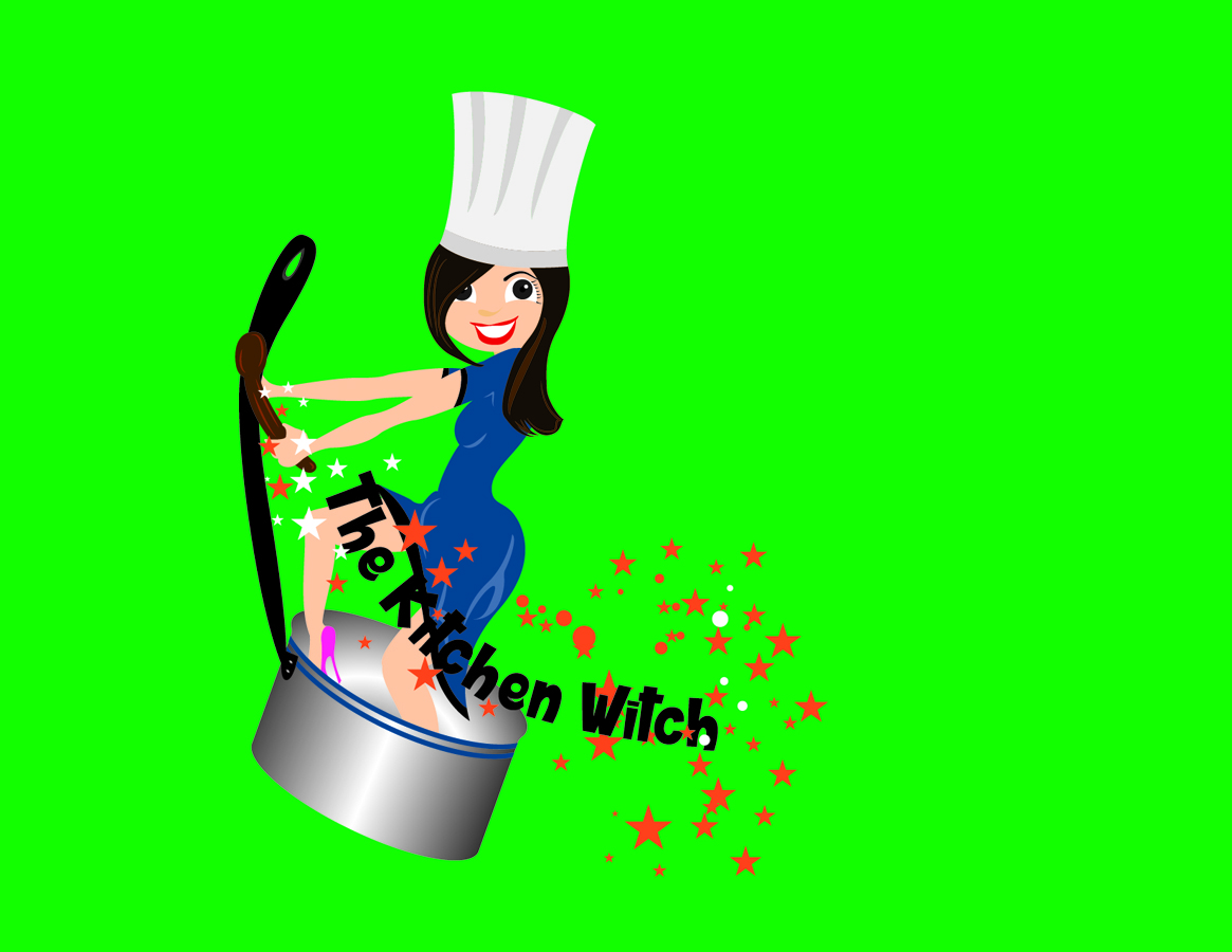 Bold, Serious, Catering Logo Design for The Kitchen Witch by Admira ...