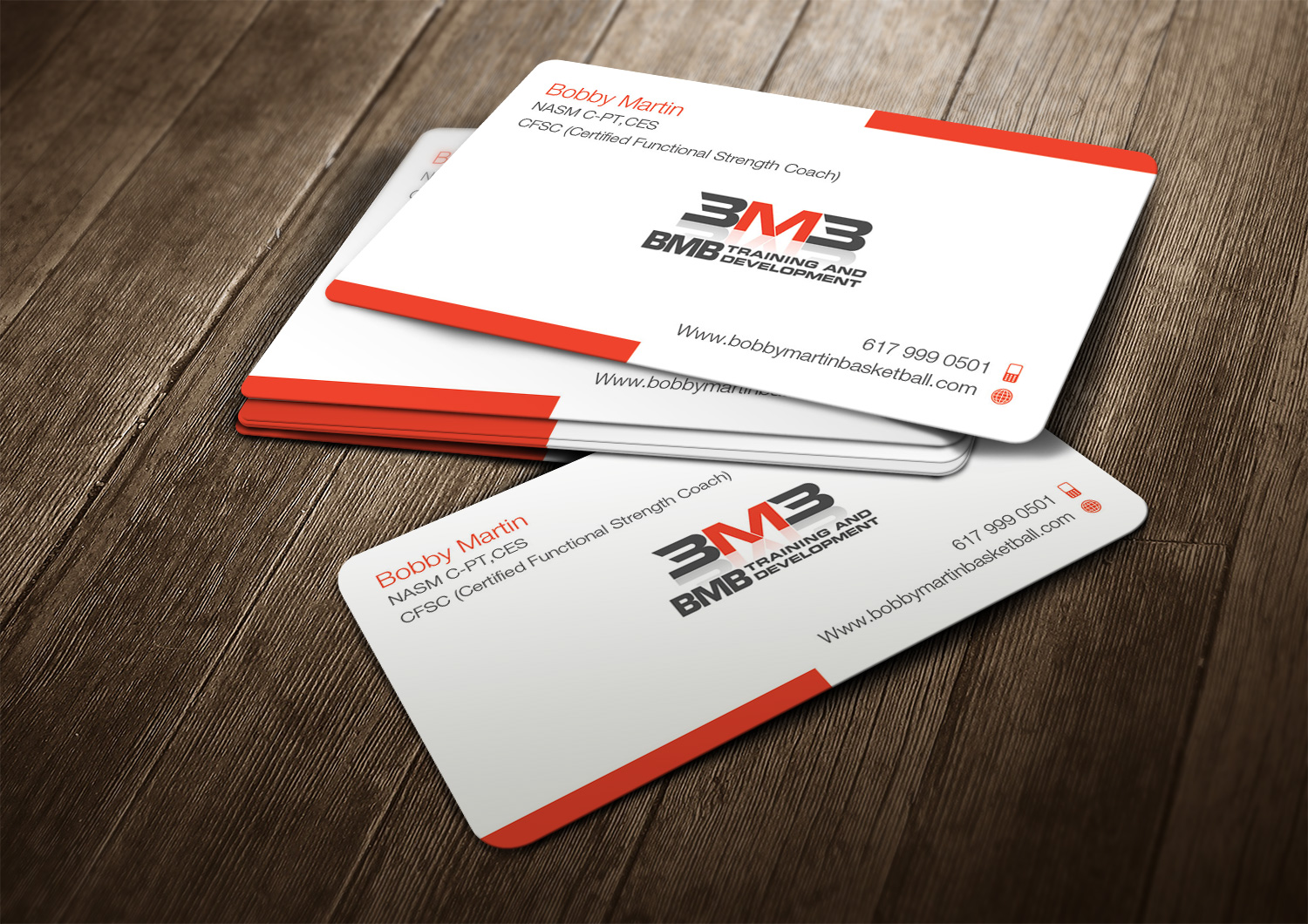 Business card design for bmb training and development llc by nilu business card design by nilu for i have a basketball training business combined with a strength colourmoves