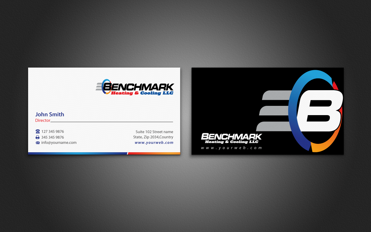 Business Business Card Design for a Company by pixelfountain ...