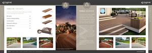 Brochure Design by C23design Company - Logical Composite Decking