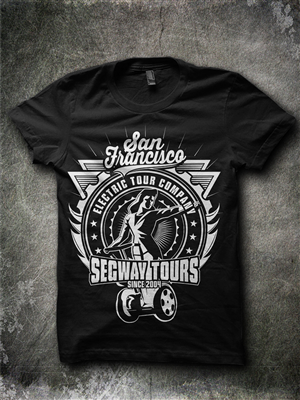 shirt design for t shirt for san francisco segway tour company by