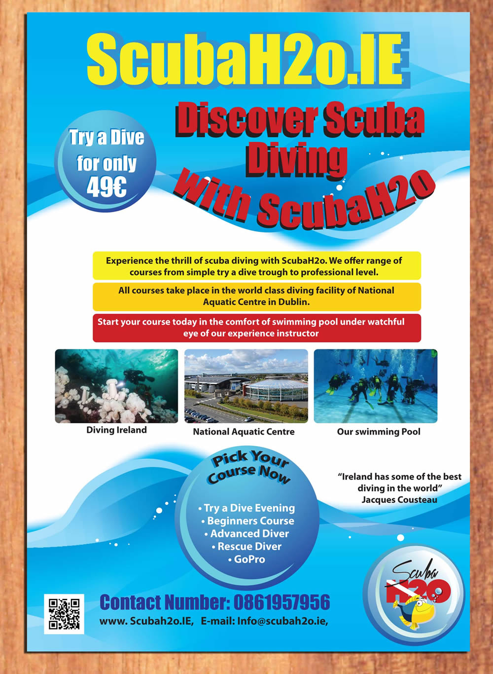 Poster design needed - Poster Design By Smart For Poster Needed For Irish Scuba Diving School Design