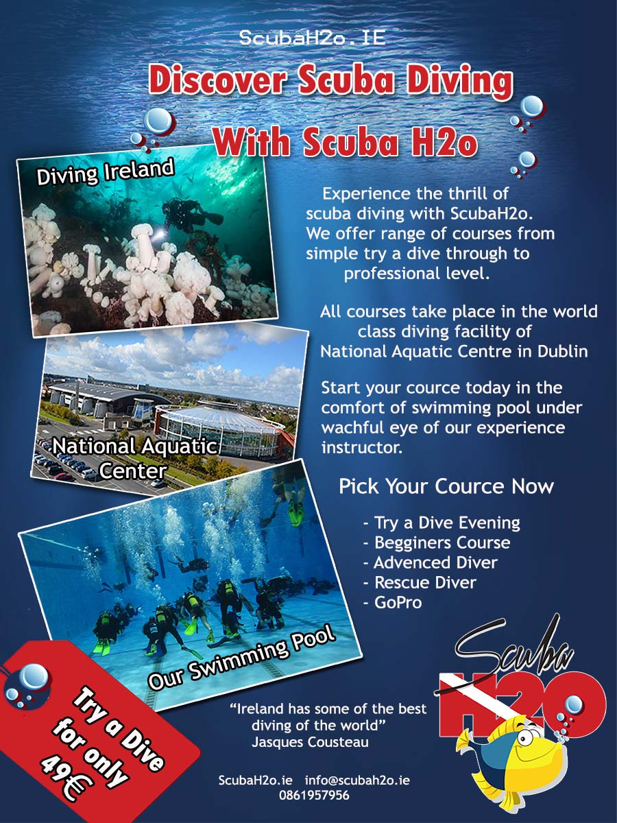 Poster design dublin - Poster Design By Demixx For Poster Needed For Irish Scuba Diving School Design