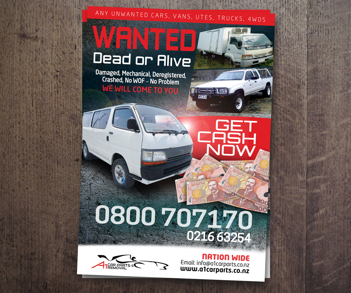 work flyer design for a company by see why design 5240603