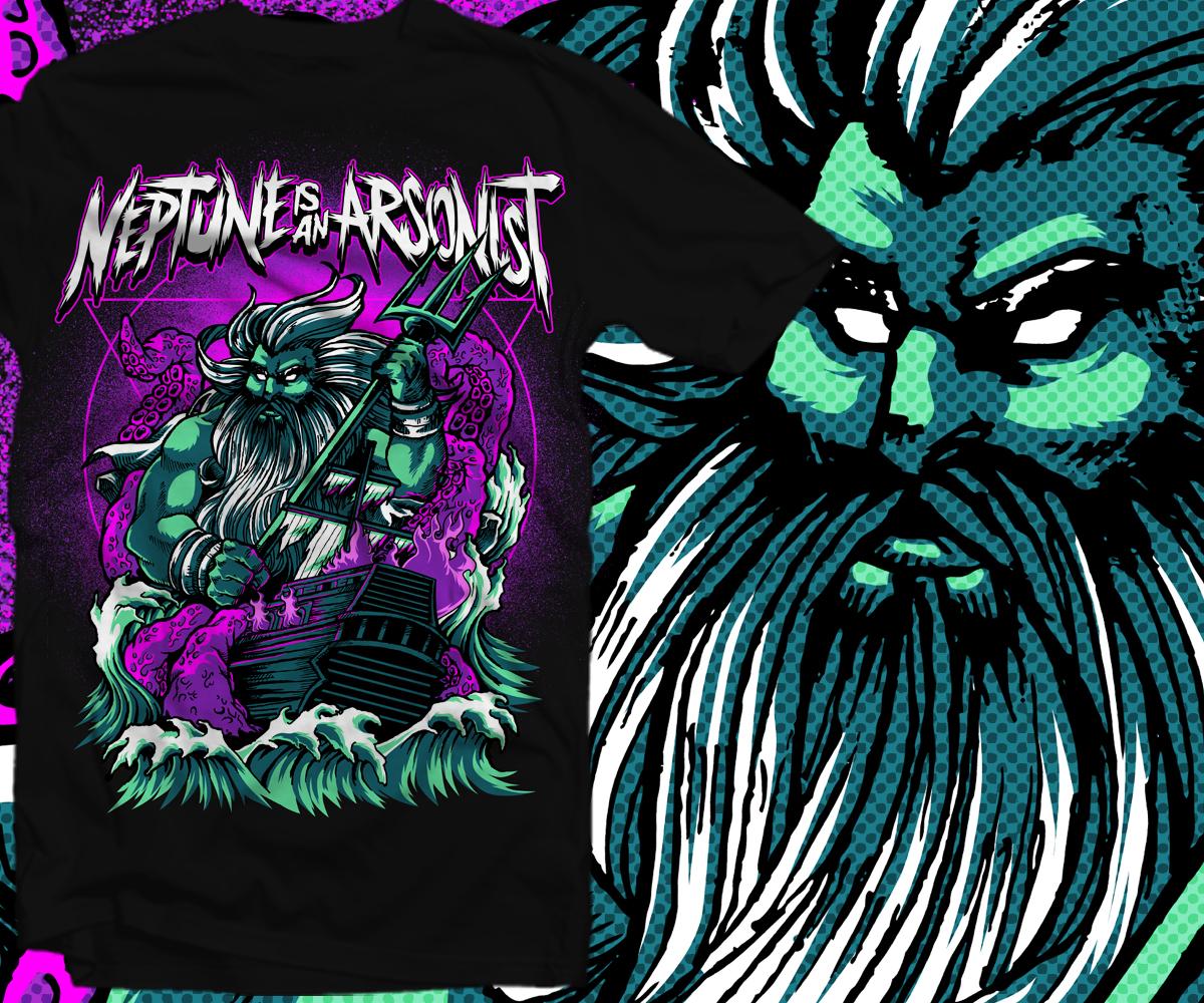 T Shirt Design By Furihando For Post Hardcore Screamo