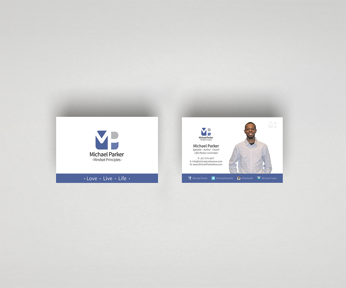 professional serious business business card design for a company