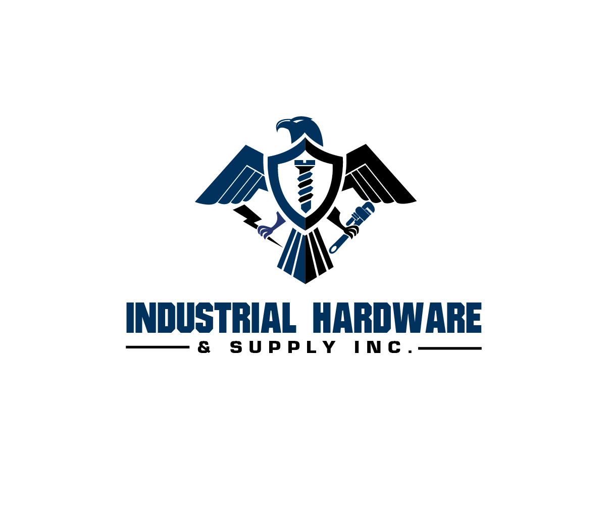 Hardware store logo design images for Industrial design company
