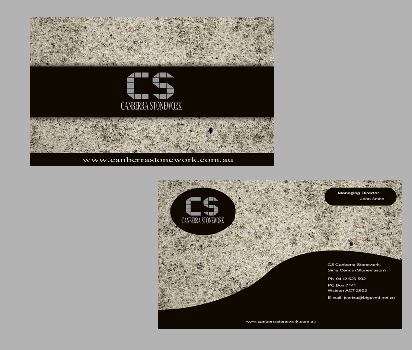 Masculine, Professional, Business Business Card Design for a Company ...