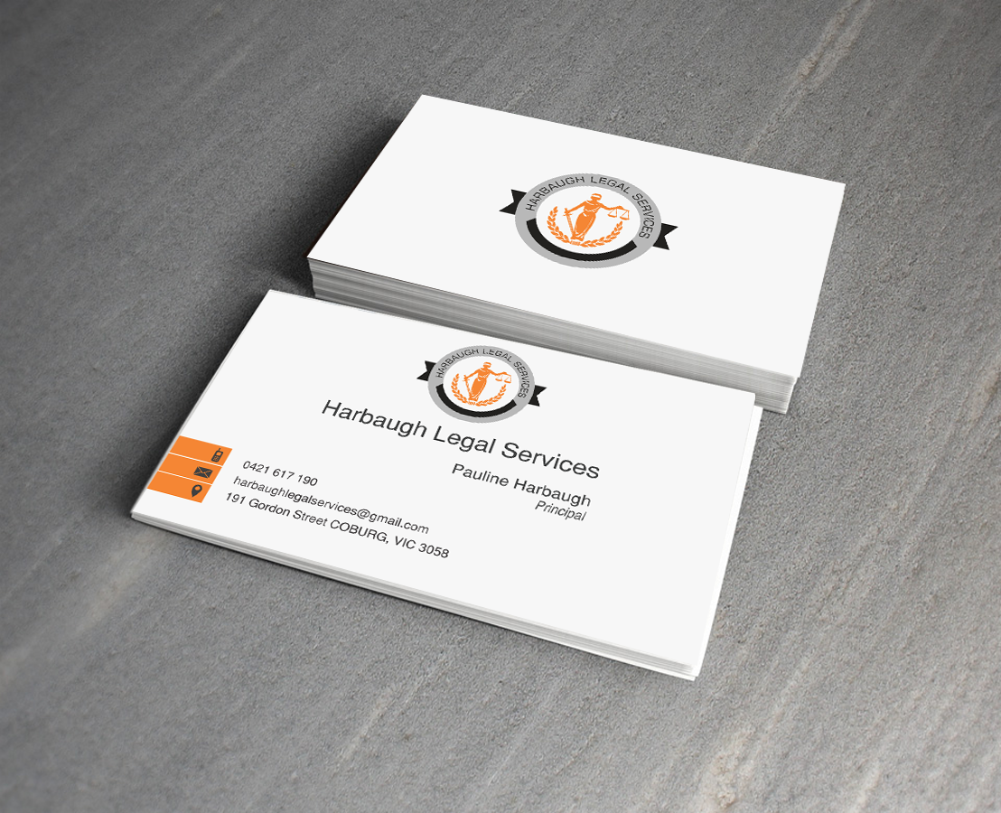 Business card services unlimitedgamers professional serious business card design for pauline harbaugh colourmoves