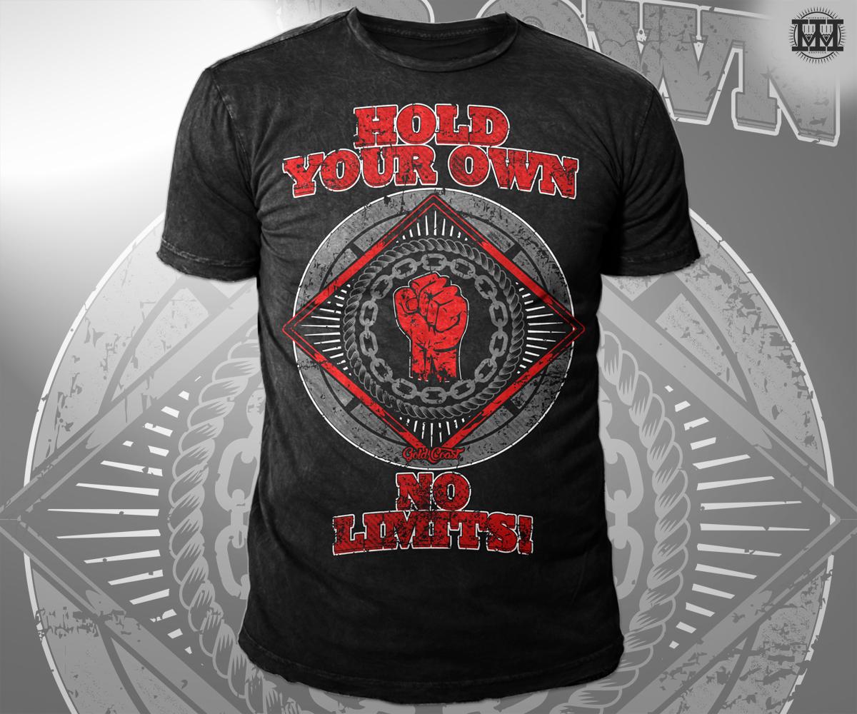 ad779388 Gym T-shirt Design for Sophie+Guidolin by Aurelio Creatives | Design ...