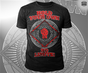 T shirt design inspiration gallery t shirt design at for Make your own gym shirt