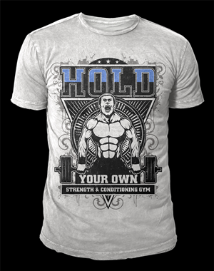 Gym T-shirt Design for Sophie+Guidolin by Jonya | Design #5242621