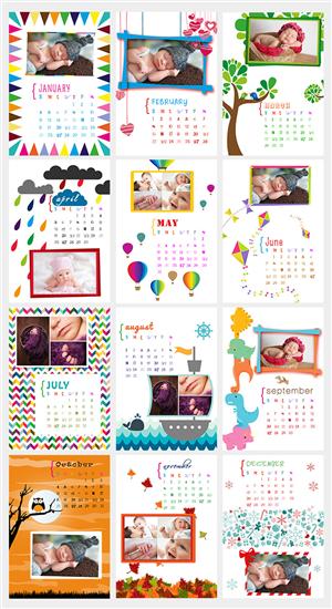 Calendar Design by Tomi and Edó