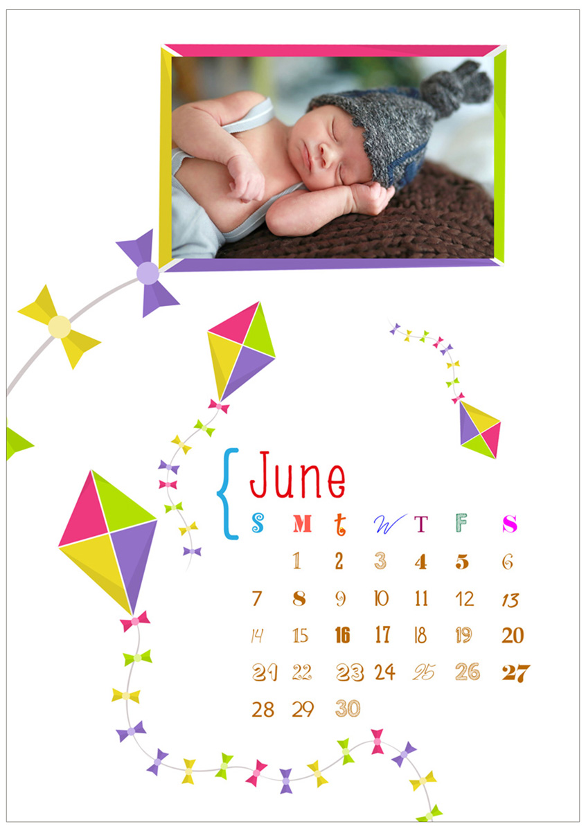 Baby Calendar Design : Baby calendar design for a company by tomi and edó
